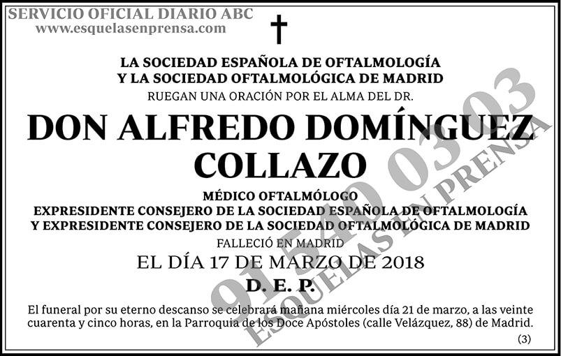 Alfredo Domínguez Collazo